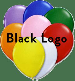 Assorted Colors Black logo