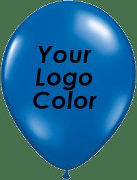 Jewel Blue balloons black logo