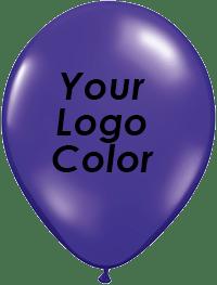 Jewel Purple balloons black logo