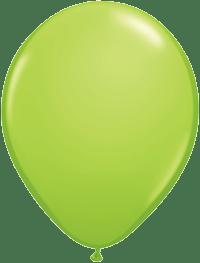 Lime Balloons