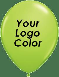 Lime balloons black logo