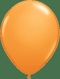 Orange Balloons