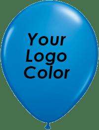 blue balloons black logo
